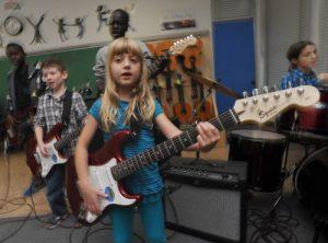 Best Buy donates musical instruments, bringing rock'n'roll to Burnaby school
