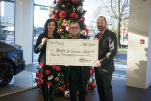 OpenRoad Auto Group helps children in its communities with Adopt-a-School donation