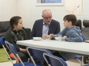 Adopt-A-School: Emergency food hubs feed hungry children