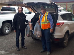 Adopt-A-School: Desperate families in Cariboo-Chilcotin receiving food from Children's Fund